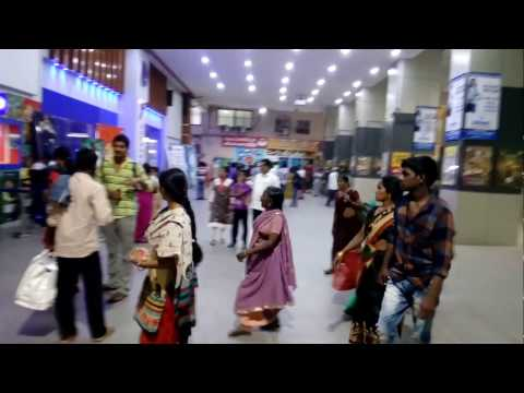 Beauty of Y-Screens area in Vijayawada Bus Stand-India's First Exiperment as on 15.02.2017