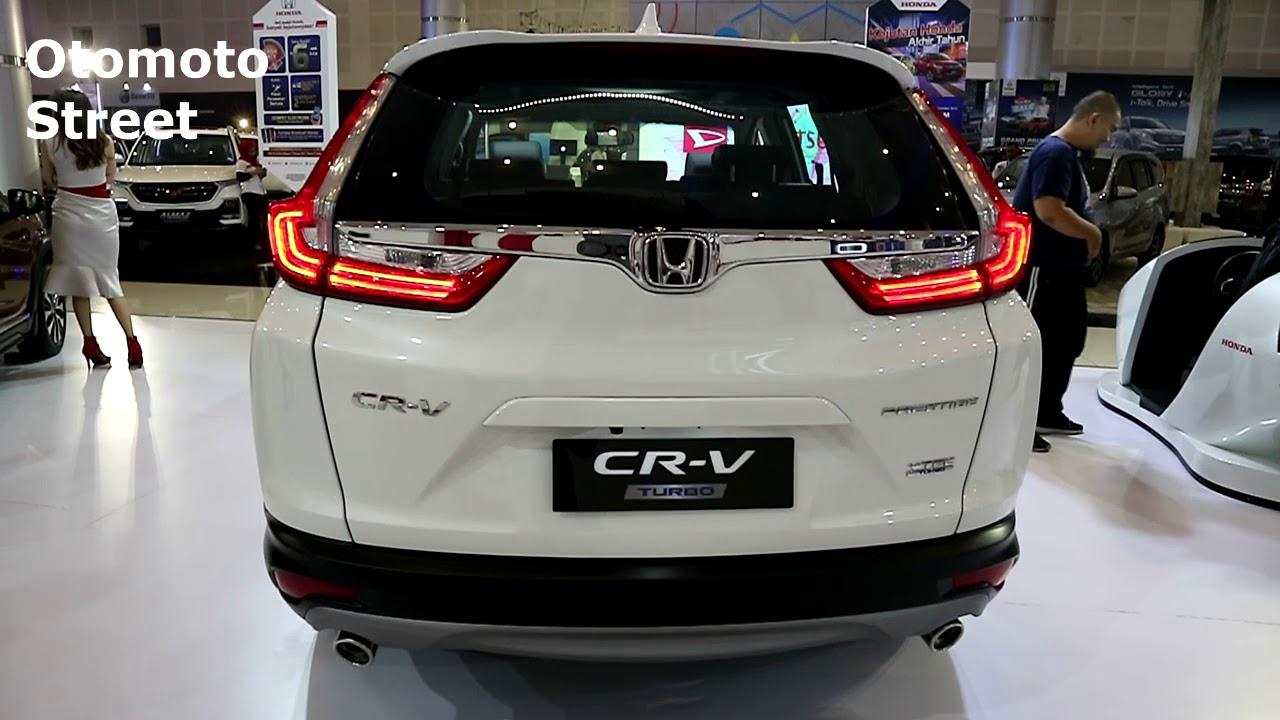 Khám phá nội và ngoại thất Honda CR-V bản Prestige Turbo 2020