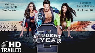 Student Of The Year 2 Trailer | Jhanvi Kapoor, Tiger Shroff & Sara Ali Khan Coming Soon