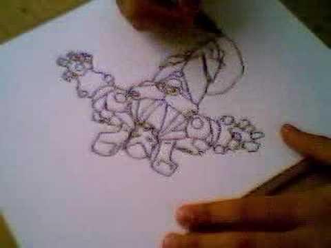 Mi intento de dibujar como Ron Lim