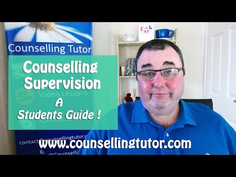Counselling supervision,a students guide