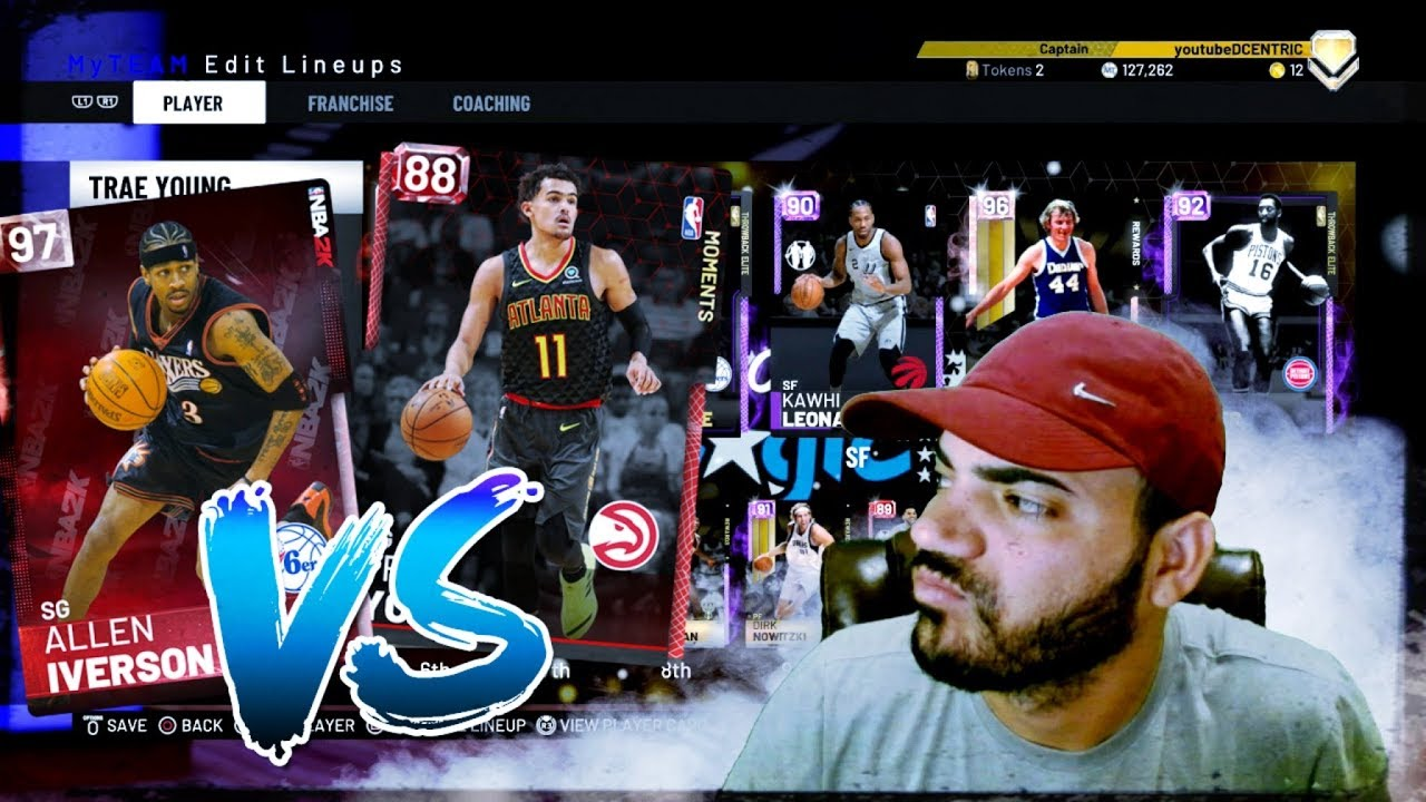 Ruby Trae Young Is The Best Shooter In Nba 2k19 Myteam Unlimited Destroys Pink Diamond Allen Iverso Youtube