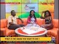 Wendy Shay, Jo Ann Sackey and Kabutey Ocansey host the AM Show (7-12-18)