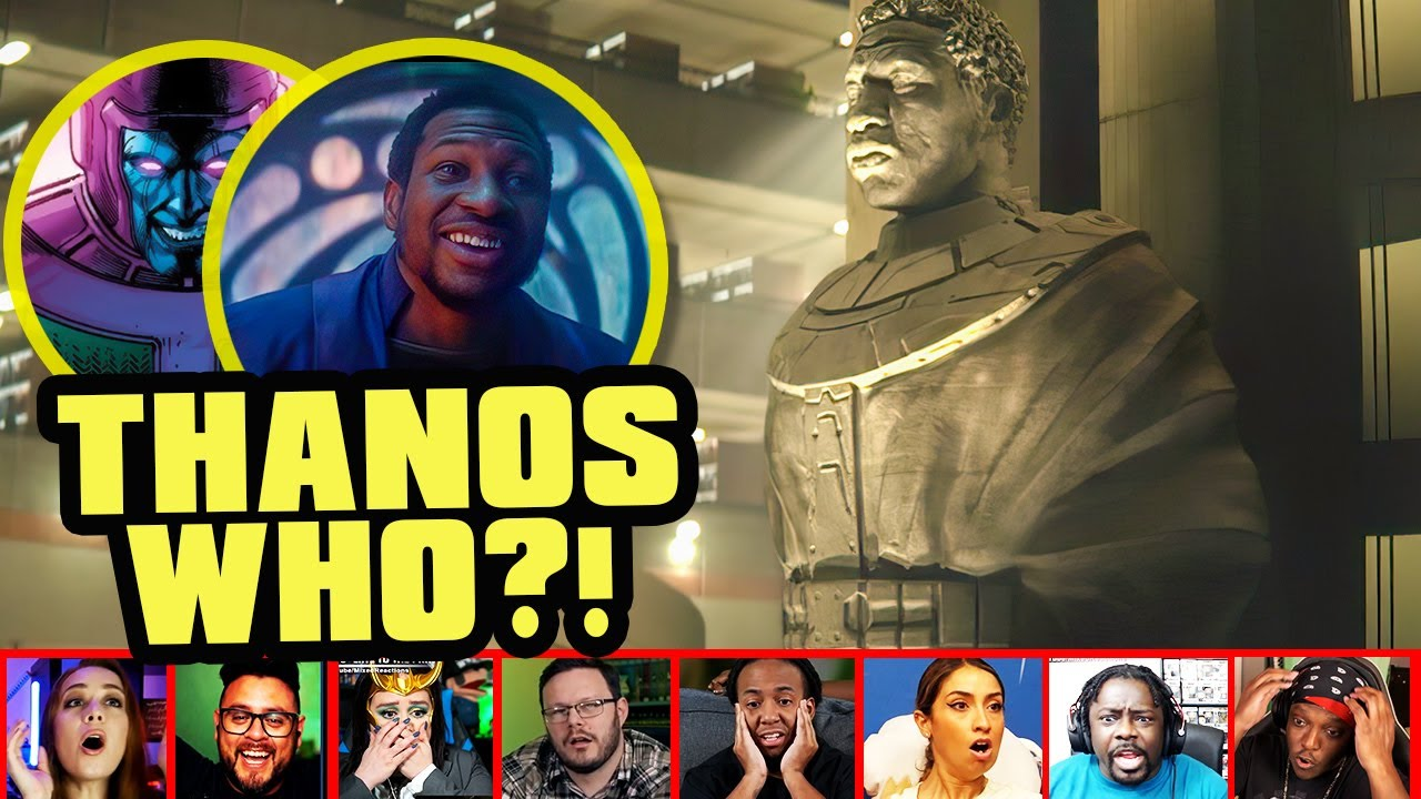 Reactors Reaction To Seeing Kang The Conqueror On Loki Episode 6 | Mixed Reactions