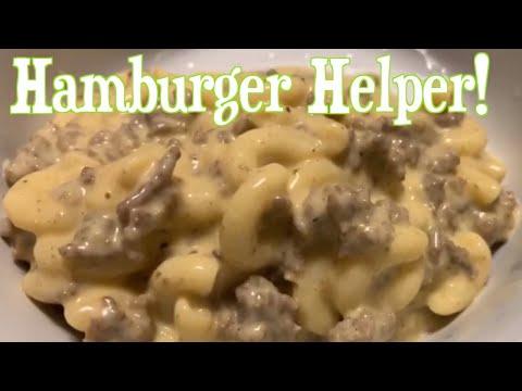 How to make Homemade Cheeseburger hamburger helper