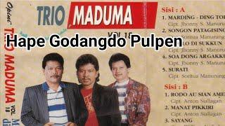 Hape Godangdo Pulpen - Lirik + Arti - Trio Maduma (Lagu Batak Nostalgia)