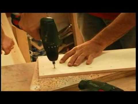 ראש בקיר – הכנת מדף עץ לספרים פרק 3