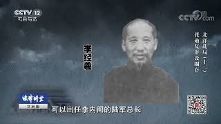 《法律讲堂(文史版)》 20190817 北洋乱局(十二)张勋复辟设圈套| CCTV社会与法
