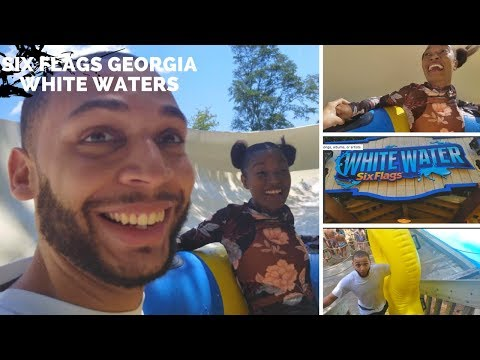Six Flags over Georgia White Waters- Sunday Funday Water Park!