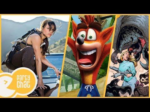 Tremors TV Dizisi, Crash Bandicoot Remaster & Michelle Rodriguez'den Tehdit! - Party Chat #30