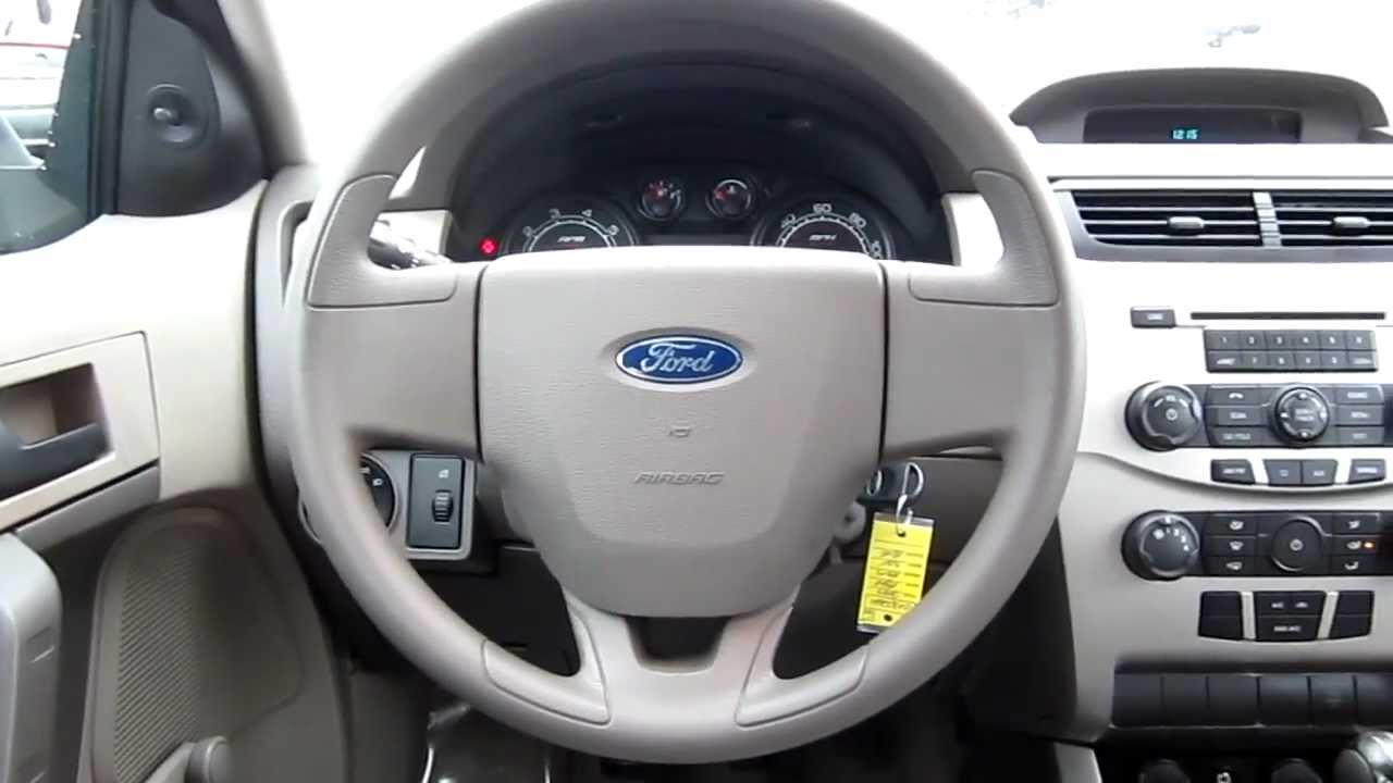 2009 Ford Focus S Light Blue Stock C1302621 Interior Youtube