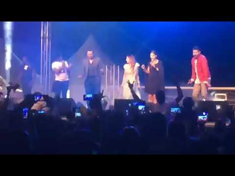 KUMKUM BAGYA STARS ABHI AND REST DANCES ONE CORNER AT ACCRA SPORTS STADIUM