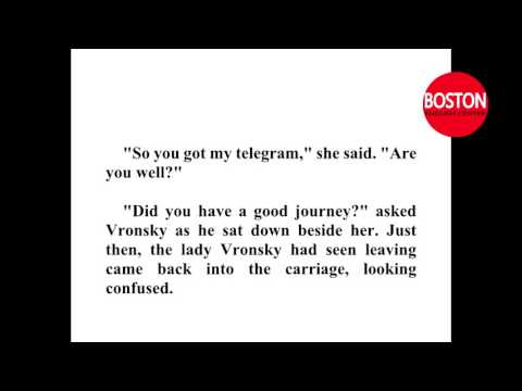 Learn English through story  - Anna Karenina  - Leo Tolstoy   Pre Intermediate Level