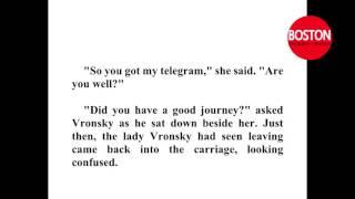 Learn English through story  - Anna Karenina  - Leo Tolstoy   Pre Intermediate Level