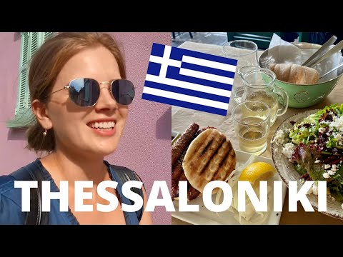 Eating + Drinking My Way Through THESSALONIKI, GREECE
