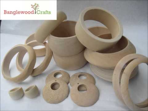 Wood Craft Rings Bulk