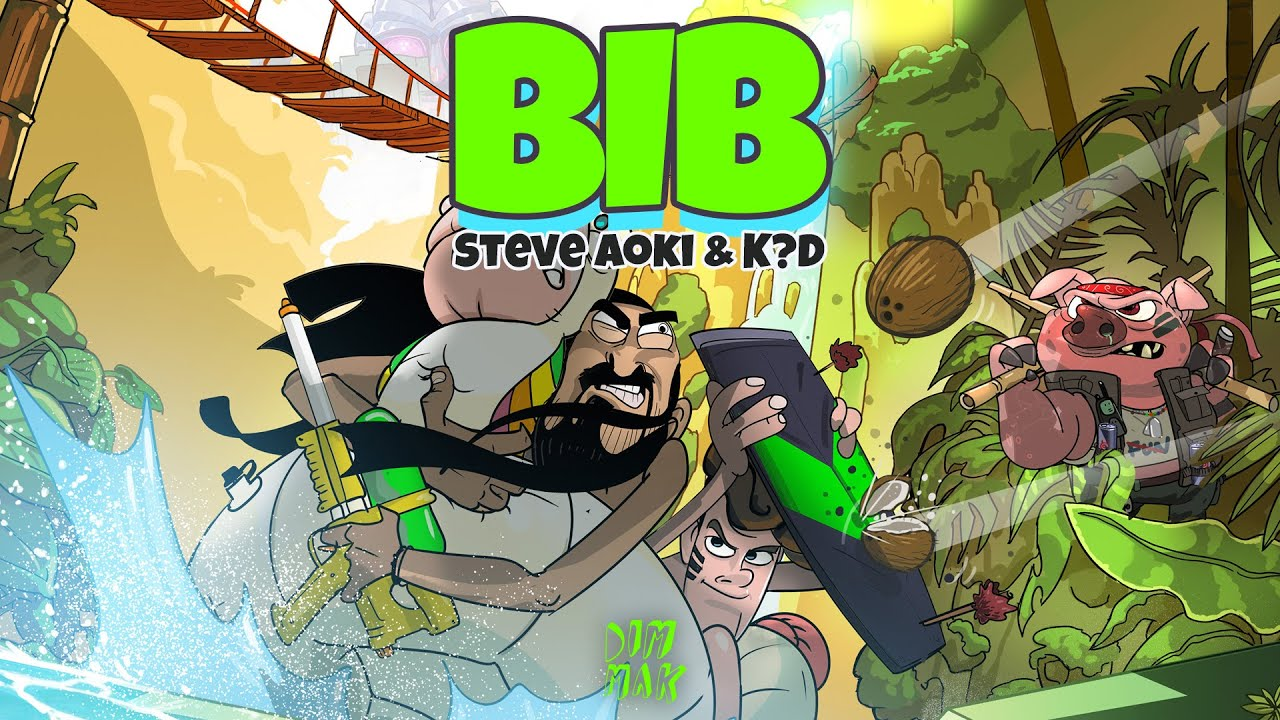 Steve Aoki & k?d - BIB   Official Music Video (2/6)