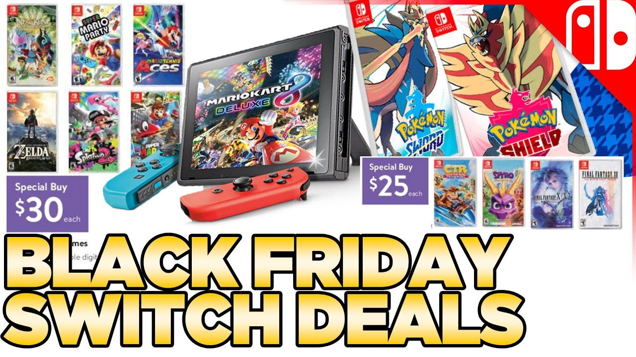 Here Are The Best Nintendo Switch Black Friday 2019 Deals