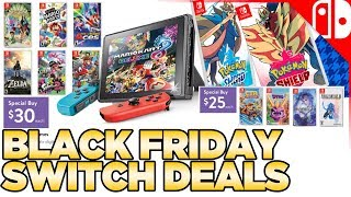 The BEST Black Friday Nintendo Switch Deals!