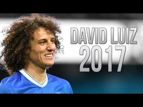 David Luiz - Best Defensive Skills - Chelsea FC - 2017