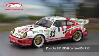 ck-modelcars-video: Porsche 911 964 Carrera RSR #52 24h LeMans 1994 GT Spirit