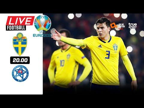 🔴 LIVE FOOTBALL : สวีเดน 1-0 สโลวาเกีย EURO 2020 บอลสดพากย์ไทย 18-6-64