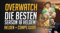 Overwatch BESTE HELDEN Season 18 Rangliste   Beste Helden für 2/2/2 ★ Overwatch Deutsch