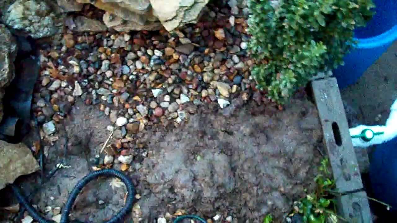 400 gallon koi pond youtube for Koi pond gallons