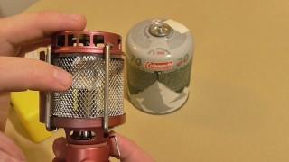 Газовая лампа Kovea KL-805 Firefly три года со мной, обзор и тест.