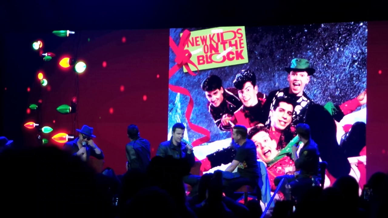 NKOTB 2016 cruise - talking about christmas album and singing Letter ...