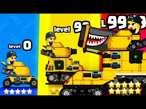 HOW STRONG Is The STRONGEST TANK COMMANDER EVOLUTION? (9999+ UPGRADE LEVEL) L Super Tank Blitz