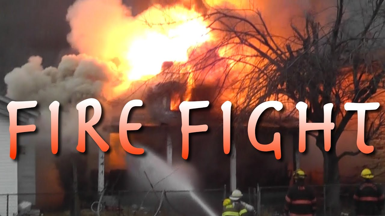 Epic house fire put out by firefighters youtube for Epic house music