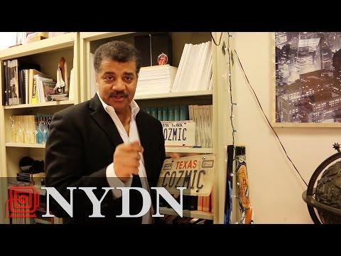 Touring Neil deGrasse Tyson's Office