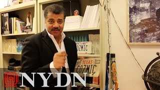 Touring Neil deGrasse Tyson's Office