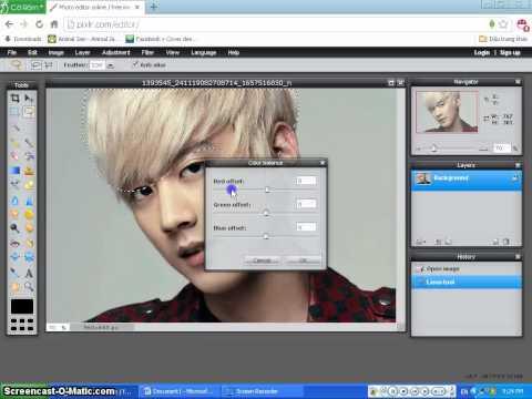 CHD - Hướng Dẫn Cách Blend Trên Photoshop Online
