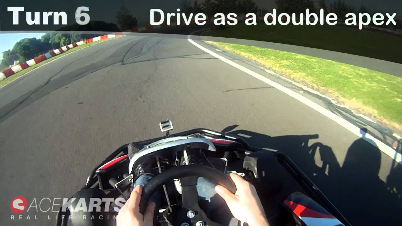 How to drive the perfect racing line fast through apex & exit.