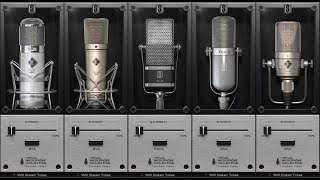Slate Digital - VMS Classic Tubes 3 Mic Pack demonstration & First Impressions