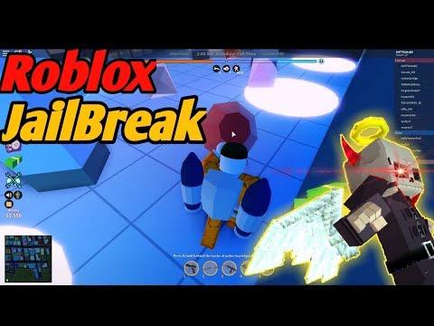 I Play JailBreak On Roblox!! [+Flying Bike Glitch]