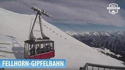 Fellhorn-Gipfelbahn in Oberstdorf