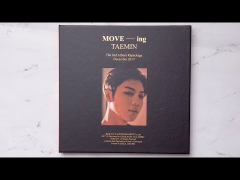 Unboxing | SHINee: TaeMin Vol. 2 Repackage - MOVE-ing