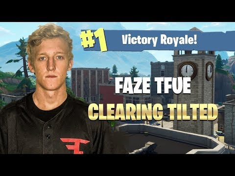 FaZe Tfue Clears Tilted Towers - Fortnite: Battle Royale