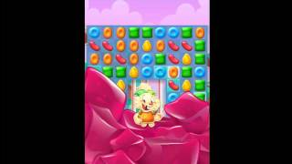Candy Crush Jelly Saga Level 40 No Boosters 20 moves left