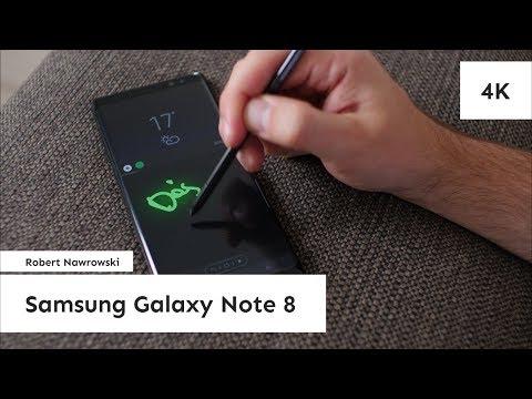 Samsung Galaxy Note 8 Recenzja | Robert Nawrowski