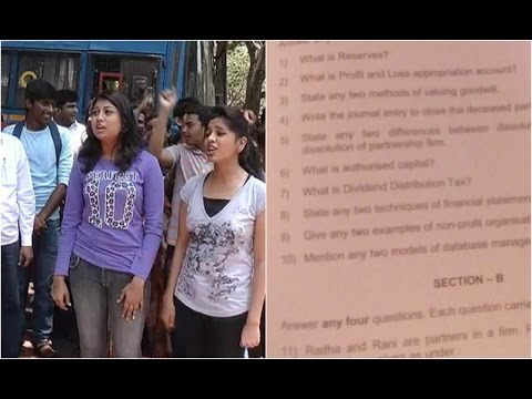 Accountancy Question Paper Leaked Raichuru Karnataka PUC board director C Shikha Reactions