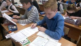 Урок русского языка в 6 классе (Лужнова Г Н )