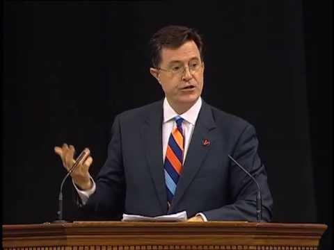 Stephen Colbert Salutes UVA's Class of 2013