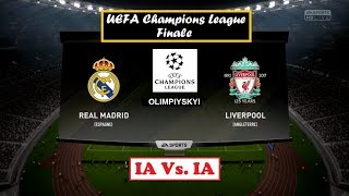 Real Madrid - Liverpool [FIFA 18] | UEFA Champions League 2017-18 (Finale) | IA Vs. IA