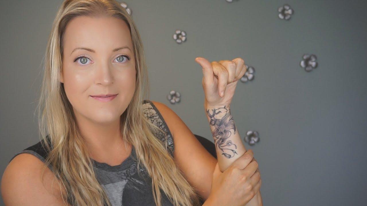 New Tattoo! Talk Tuesday | Allison's Journey - YouTube