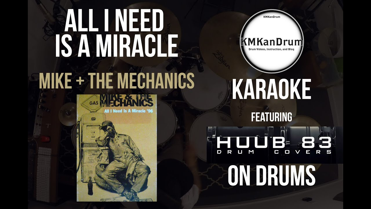 """COLLAB REPOST: """"All I Need Is A Miracle"""" featuring Huub 83 Drums"""
