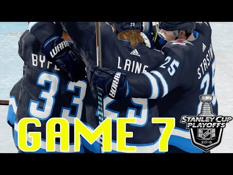 Game 7 Nashville Predators vs Winnipeg Jets EA Sports NHL 18
